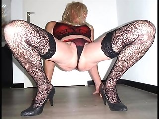 Lingeriesletje: Crossdresser. Compilation Of Pictures