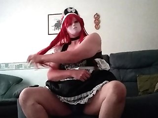 Insatiable Maid Undressing
