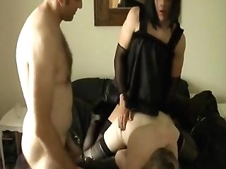 Exotic Homemade Shemale Movie With Stockings, Undergarments Scenes