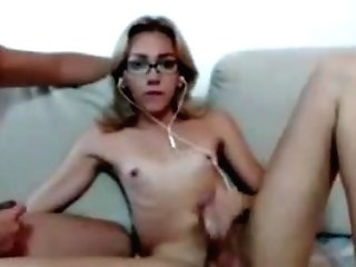 Beautiful Stunner With Ball Sack And Beau Boffing