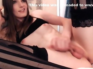 Finest Homemade Shemale Movie With Underwear, Petite Tits Scenes