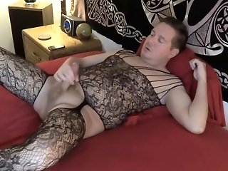 Orgasm In Bodystocking
