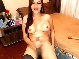 Exotic Homemade Shemale Clip With Big Tits, Onanism Scenes