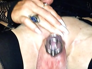 Anna's Fresh Enforced Chastity Device... Mrc's Enforced Chastity Inspection.