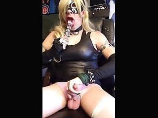 Bitchy Cd Plays With Herself