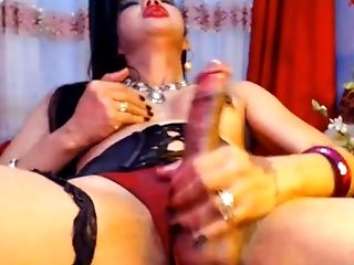 Erotic Asian Tranny Jism on Webcam
