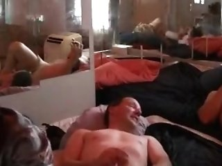 Crazy Homemade Shemale Clip With Group Fuckfest Scenes
