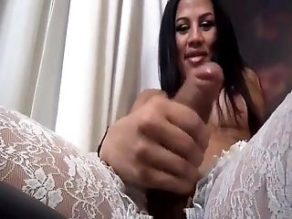 Mouth-watering Brazilian Dick Dancing